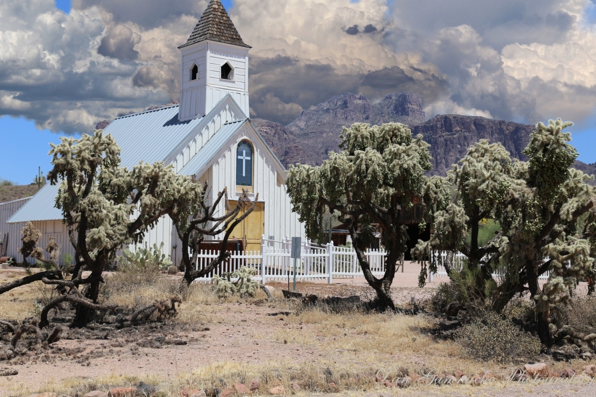 The Elvis Chapel at the Superstition Mountain Hist by UVDan