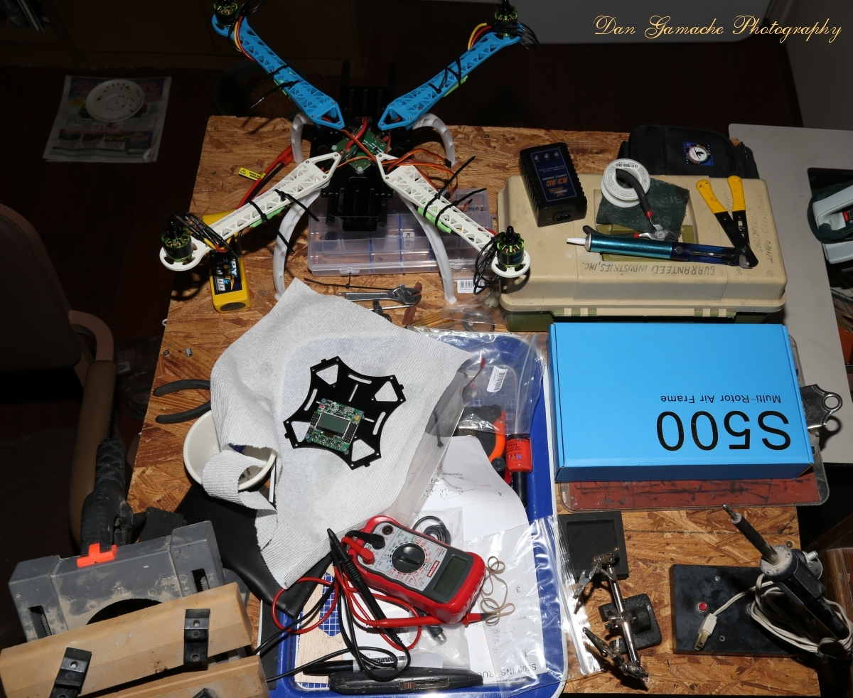 Building an RC Quadcopter by UVDan