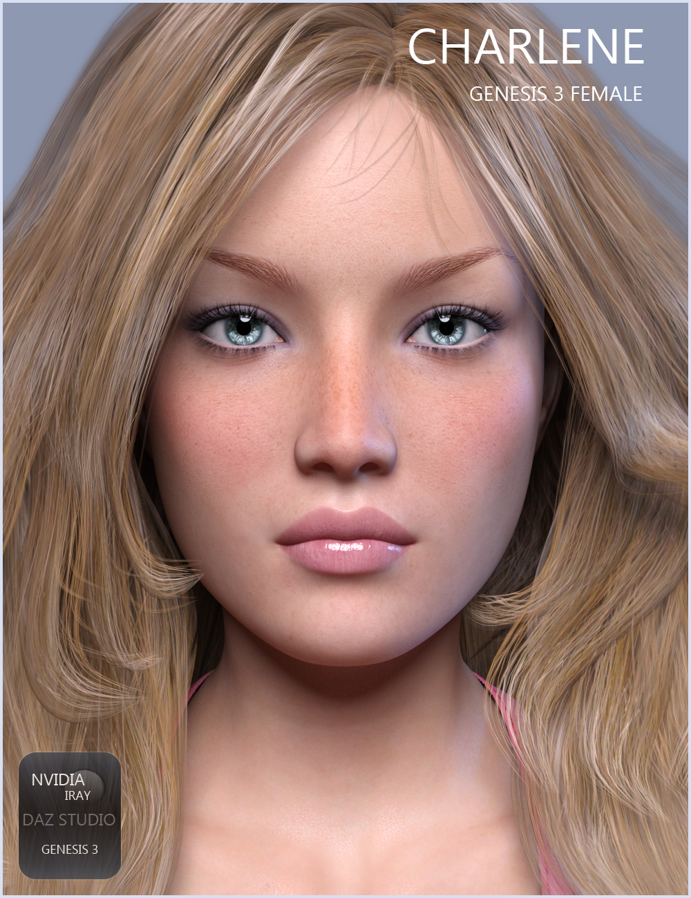 Charlene for G3F coming soon to Renderosity Market by Valery3D