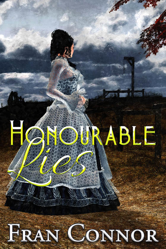 HONOURABLE LIES ~ cover art and design for Fran Co by AidanaWillowRaven