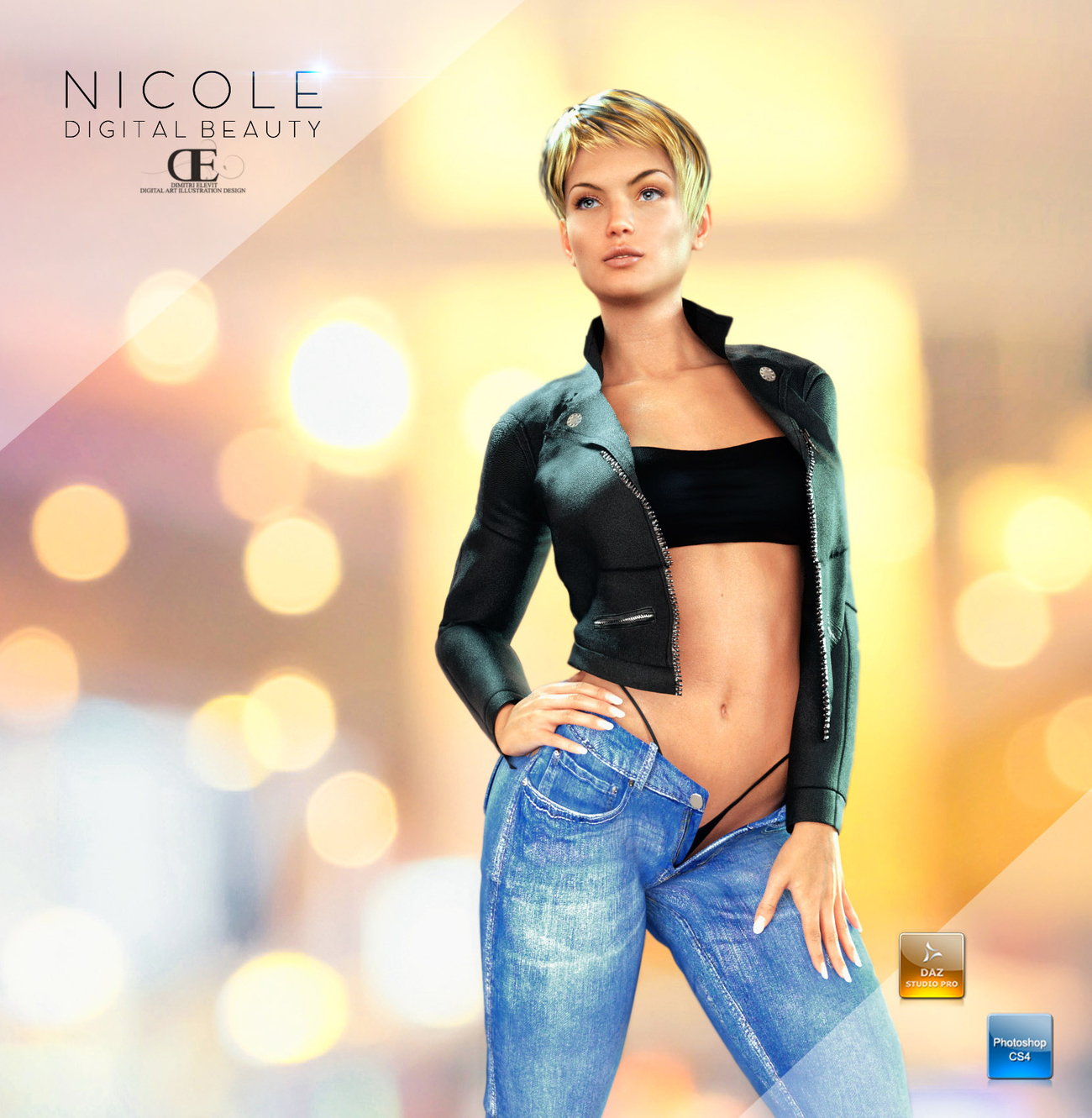 Nicole digital beauty 2 by DimitriAraujo