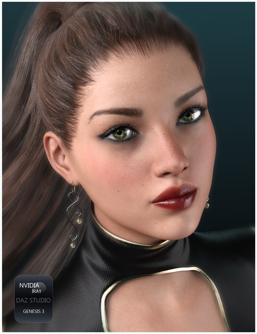 New Girl by Valery3D