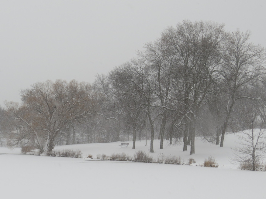 A snowy day in Jackson Park by AirRaid