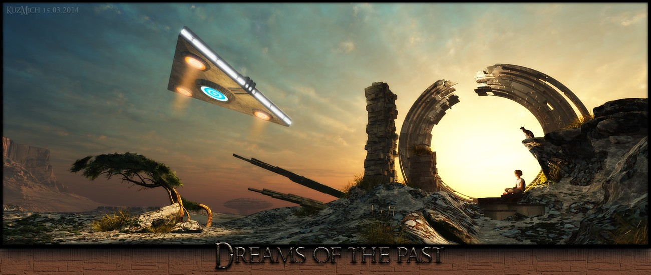 Dreams of the past by KuzMich
