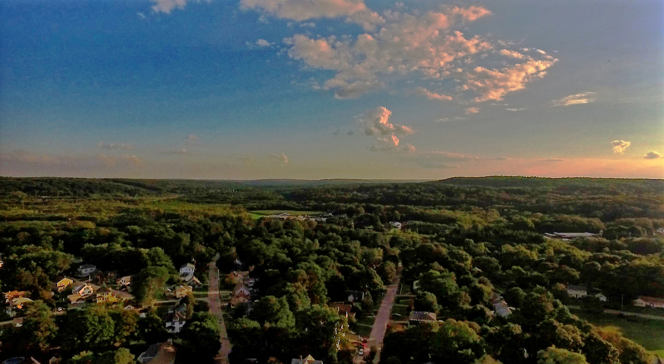Eye of the Drone - Wright's Farm and Woonsocket Hi by Ragtopjohnny
