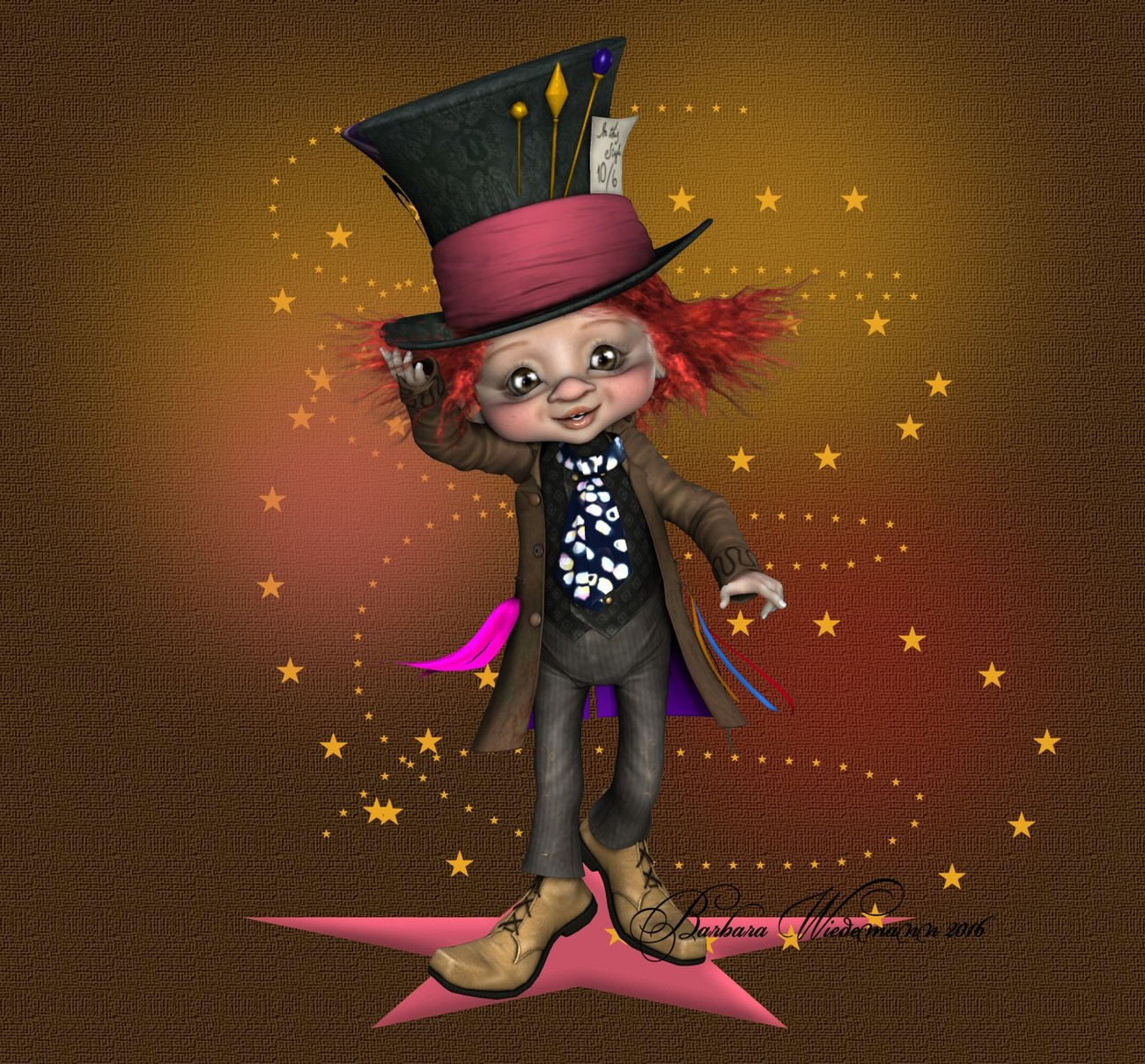 I'm not the Mad Hatter. by Barbara1337