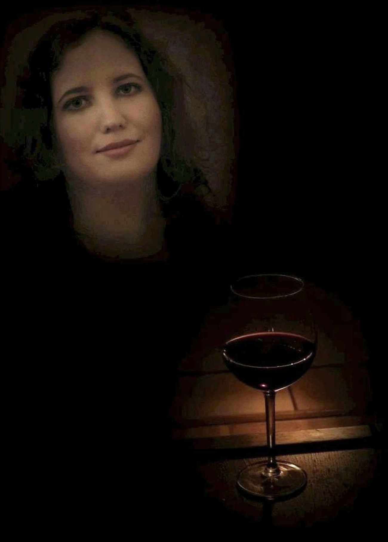 Ellen - still life with red wine by icerian
