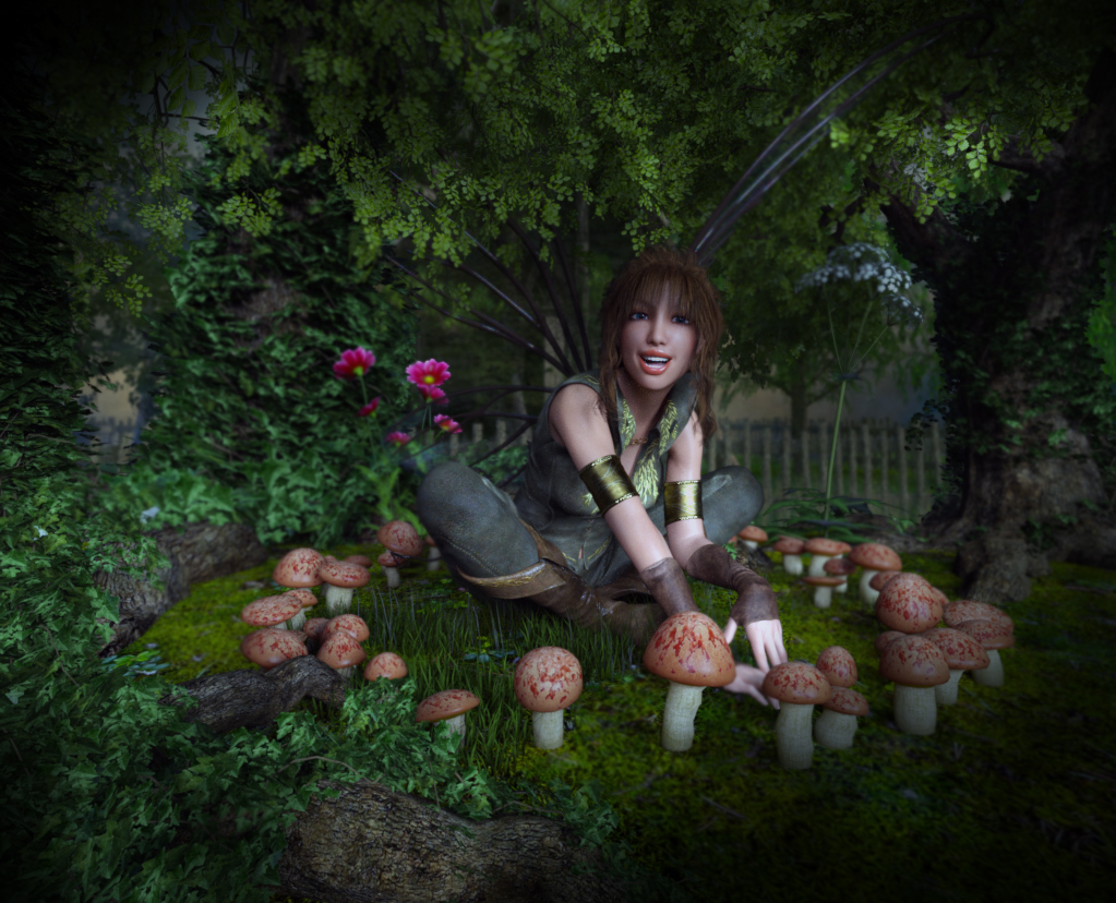 The Fairy Ring by TheArtisticHermit