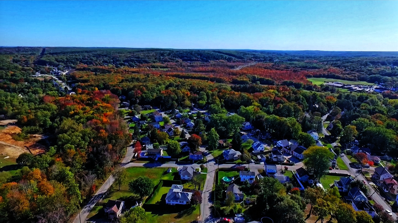 Eye of the Drone - Fall Colors by Ragtopjohnny