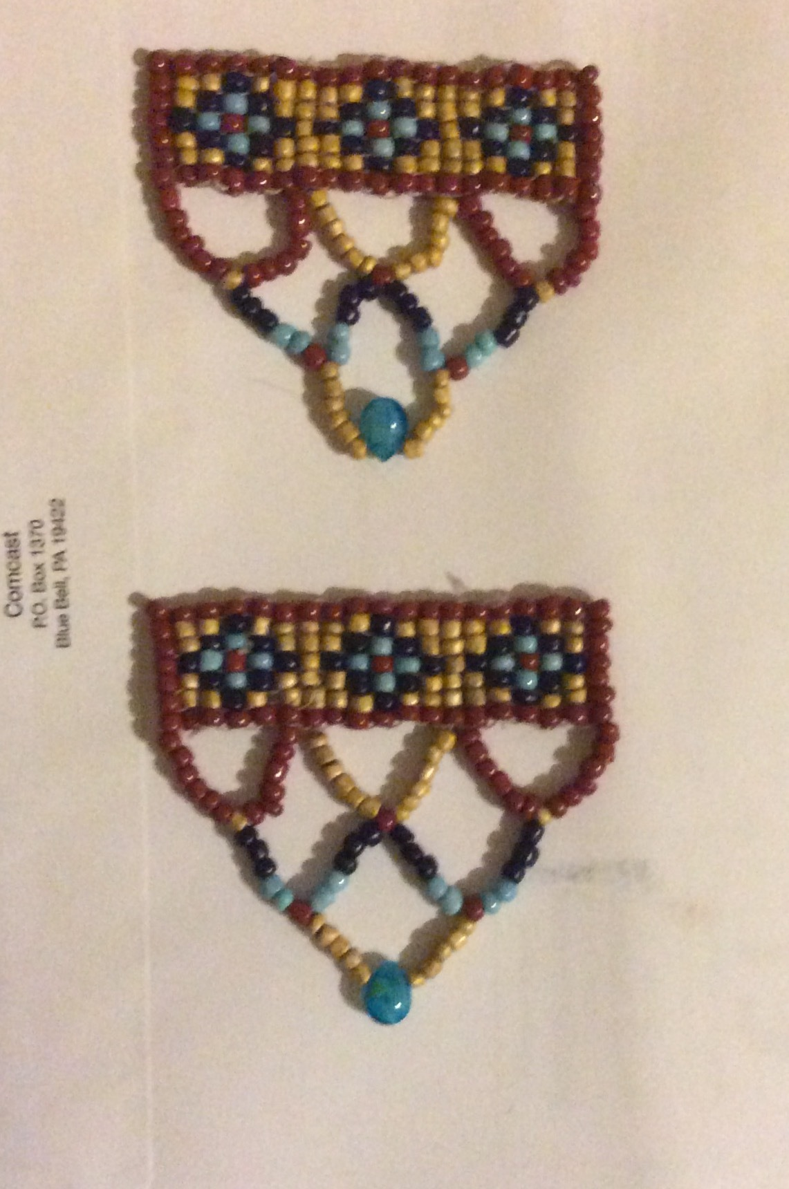 Egyptian Gown Real World Beaded Ornaments by 3DFineries