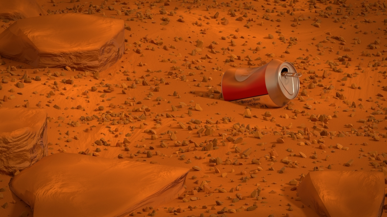 MARS - Evidence of life by pchef