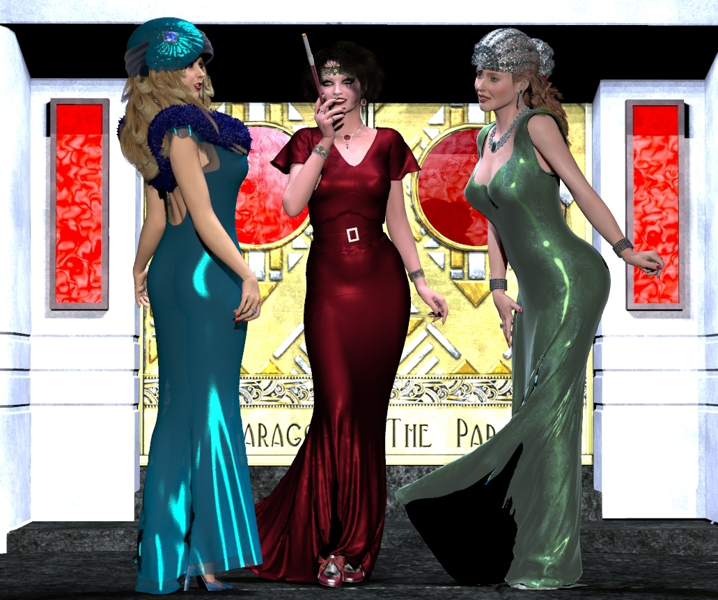 Ladies' Night at the Paragon by pigfish9