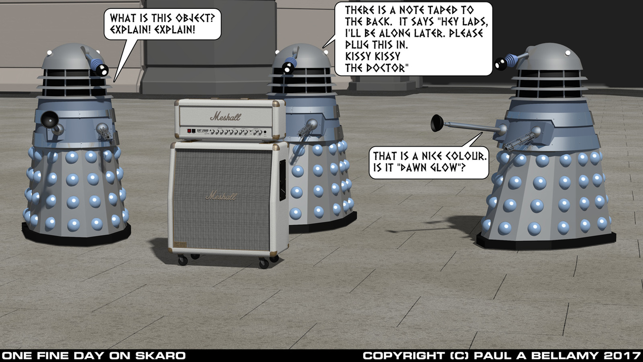 One Fine Day On Skaro by SamTherapy