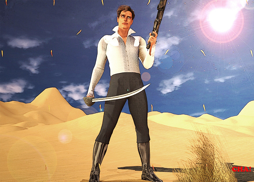 Desert Rogue with Flare
