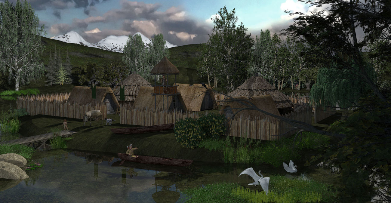 1 - The Bear's Gift: The Village by flavia49