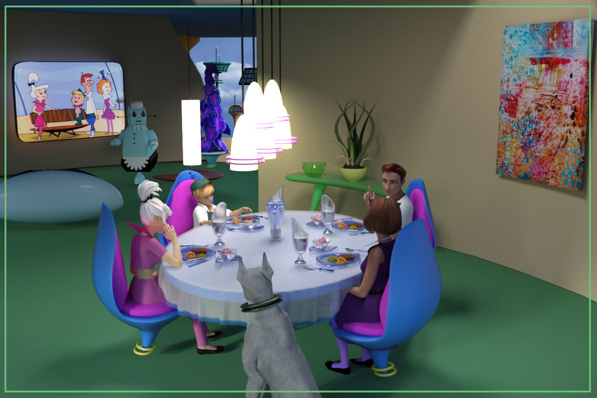 Family Dinner by dhouck