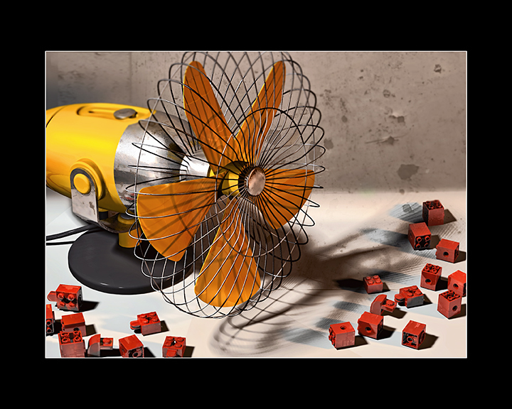 Yellow Fan Reconsidered