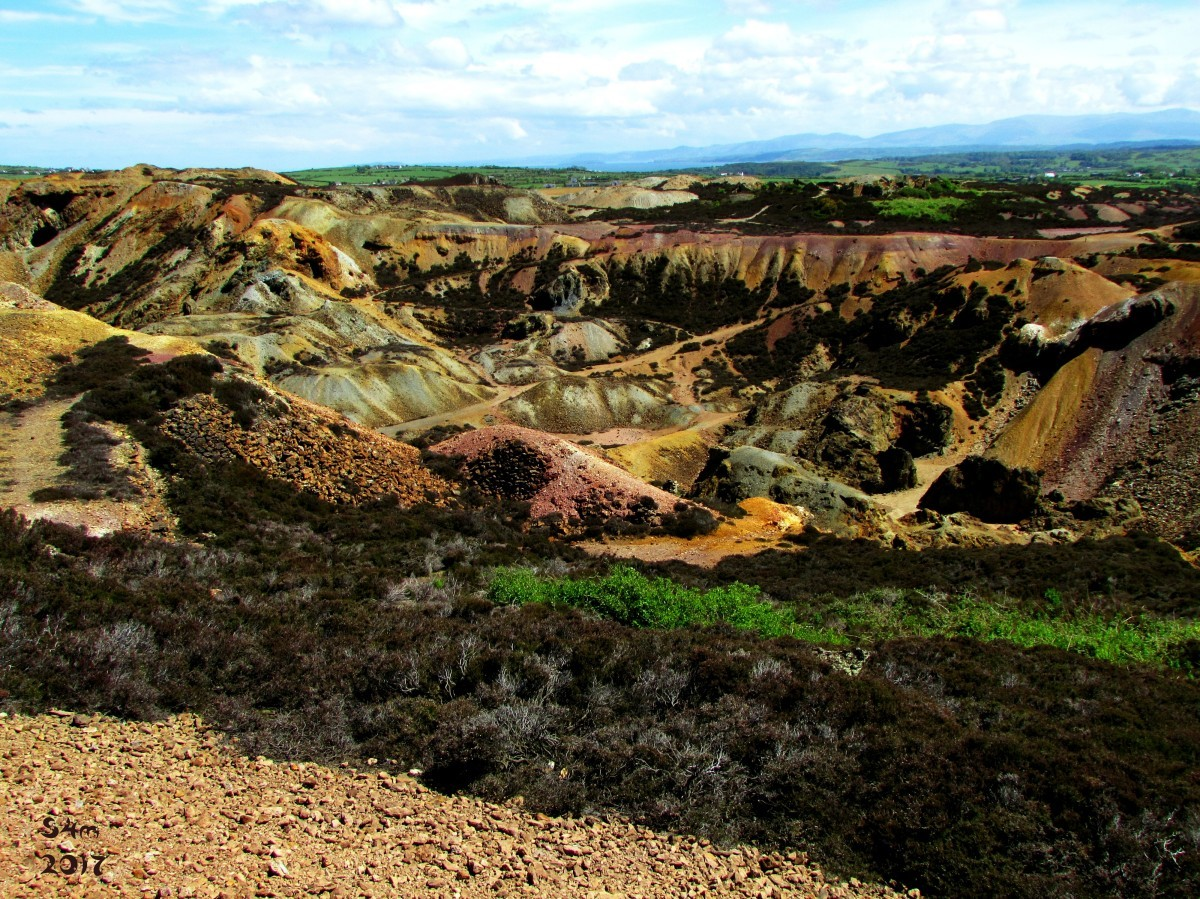 Parys Mountain Anglesey by Star4mation