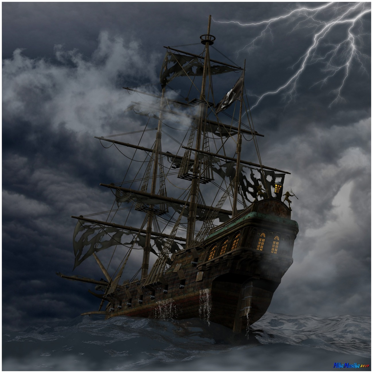 Ghost Ship by mikemusike