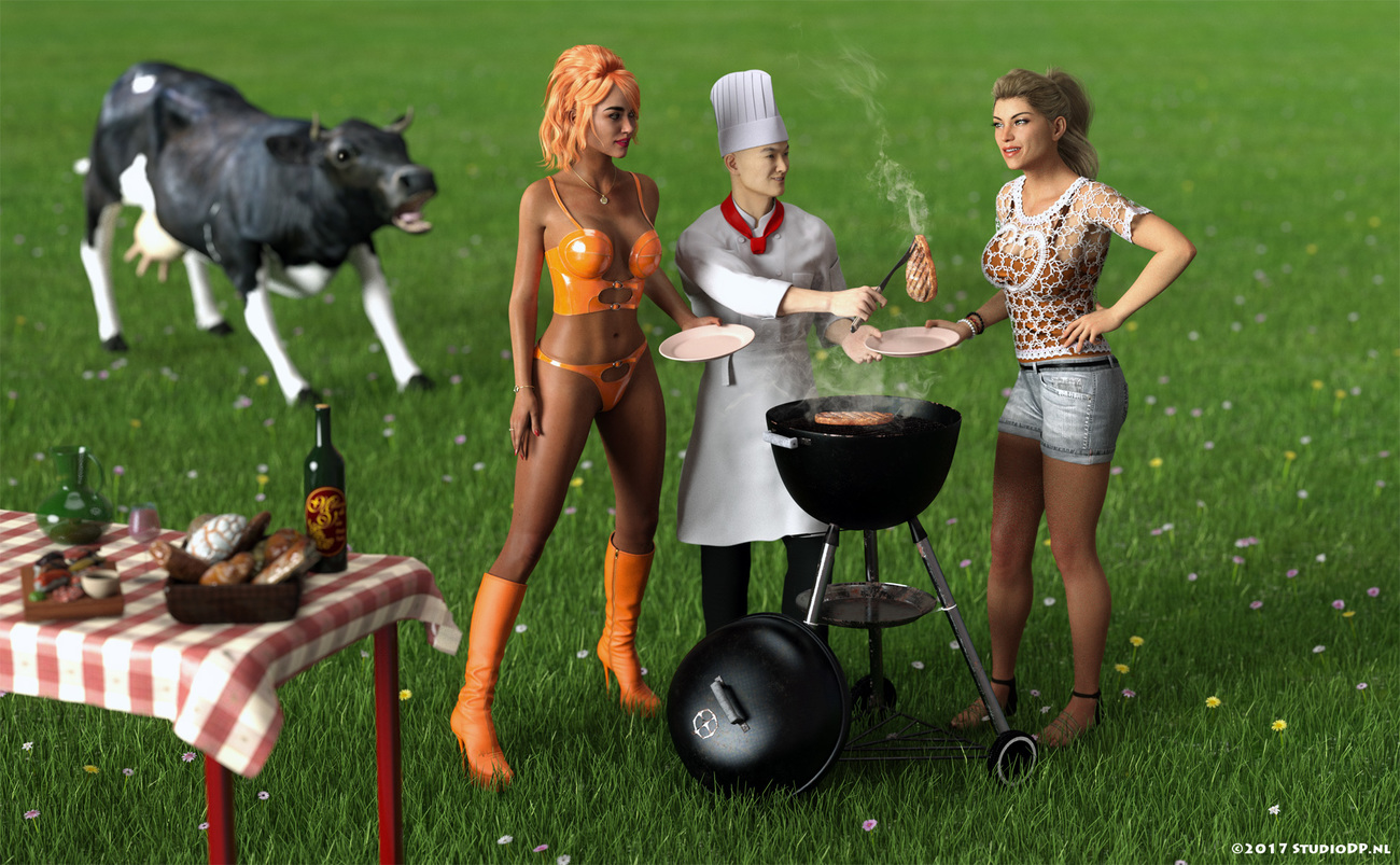 Summer barbeque (Victoria 8) by StudioDP