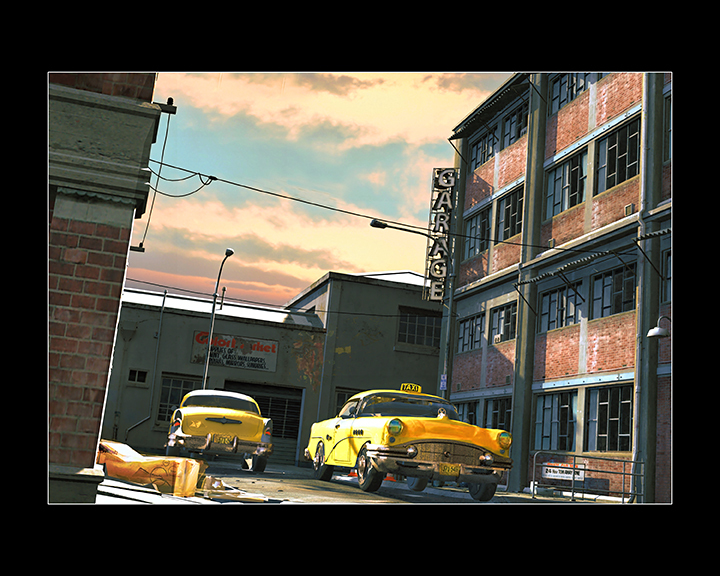 Yellow Taxi Revisited by Artformz2