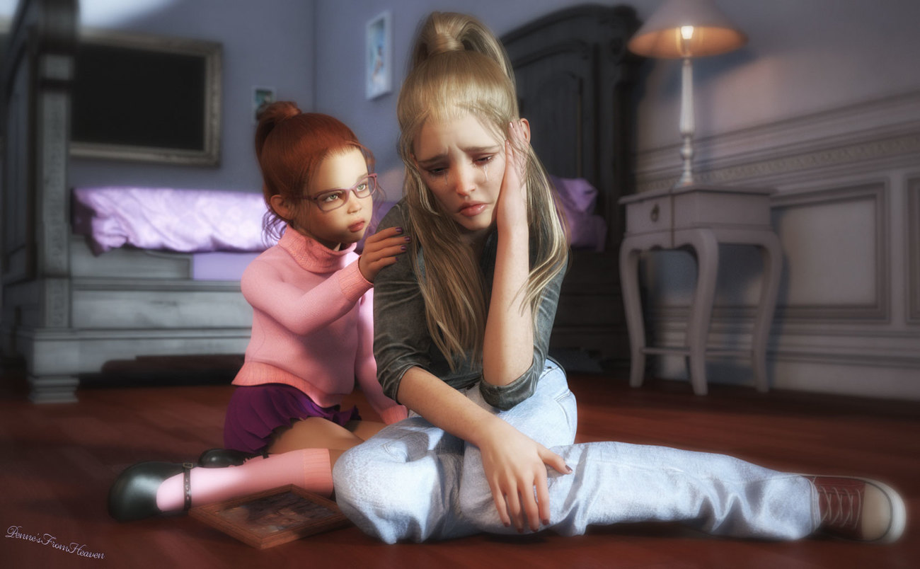 Don't Cry Sis by dollmommy