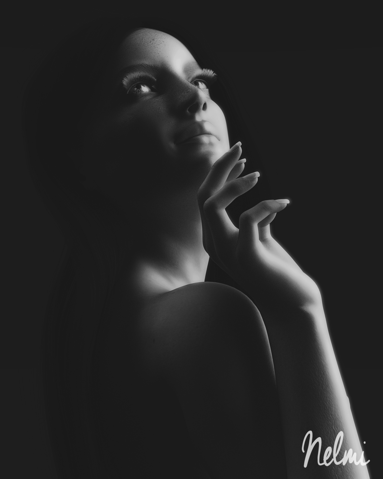 Black and White Beauty by nelmi