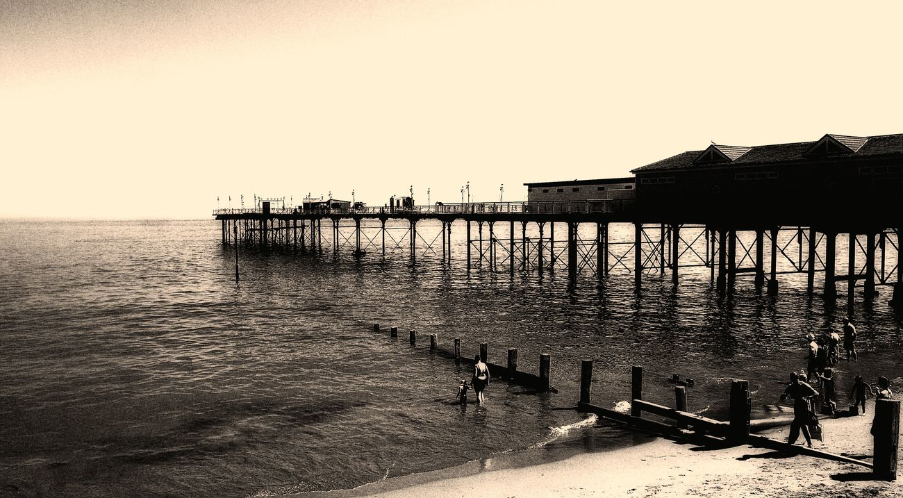 Teignmouth pier by awjay