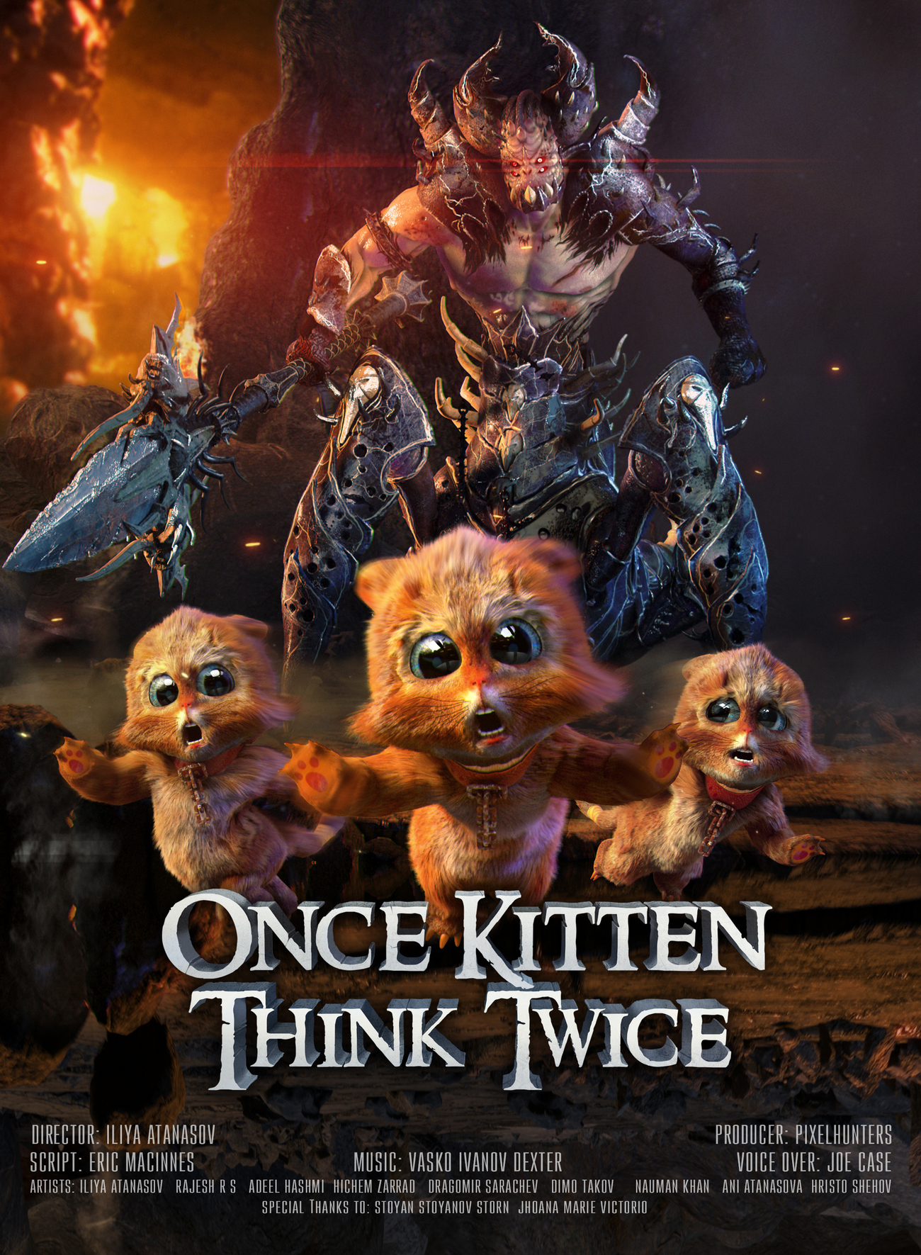 Once Kitten, Think Twice by pixelhunters