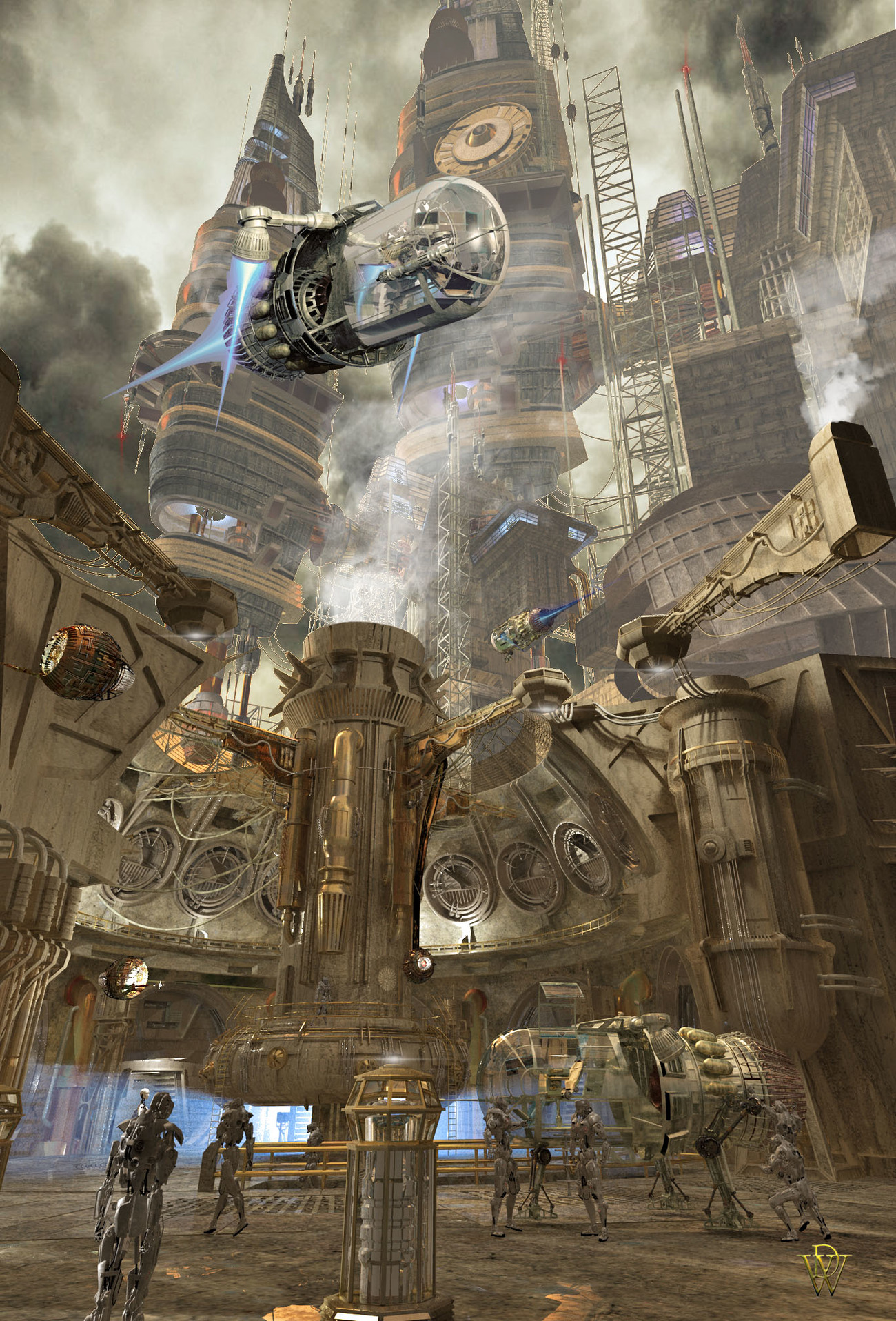 Space Energy Processing Plant by London224
