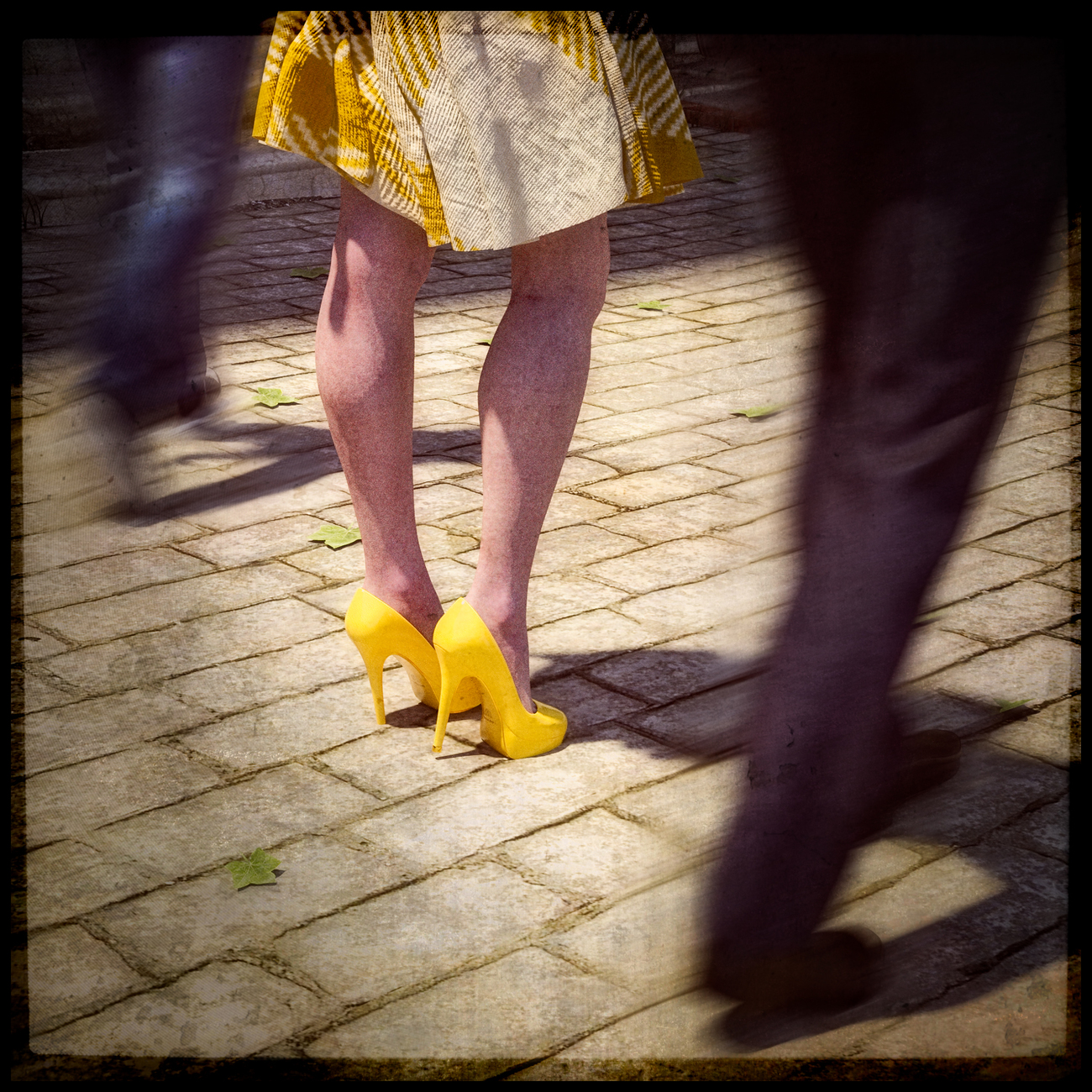 the yellow shoes by martial