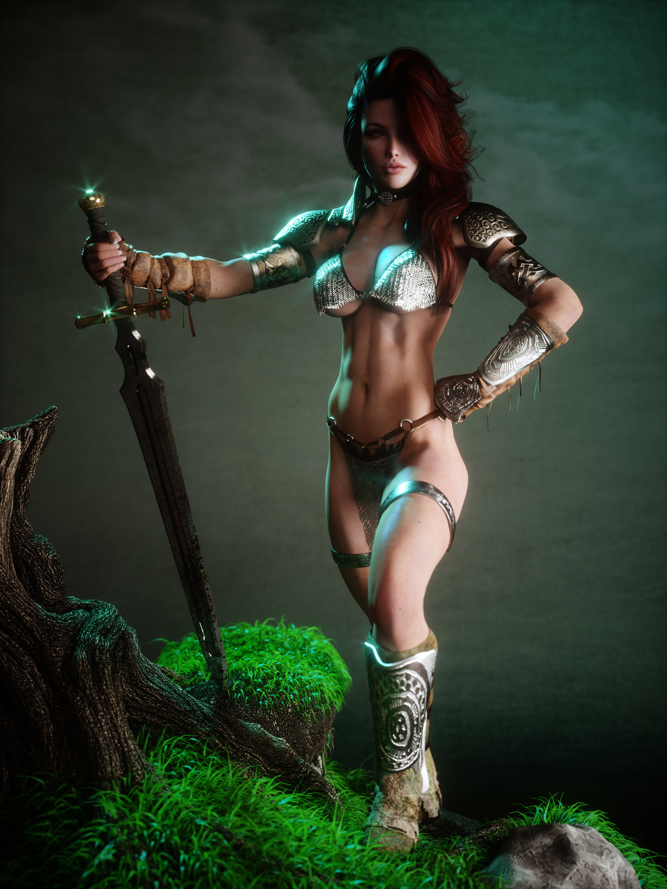 Red Sonja by Jelly_Bean