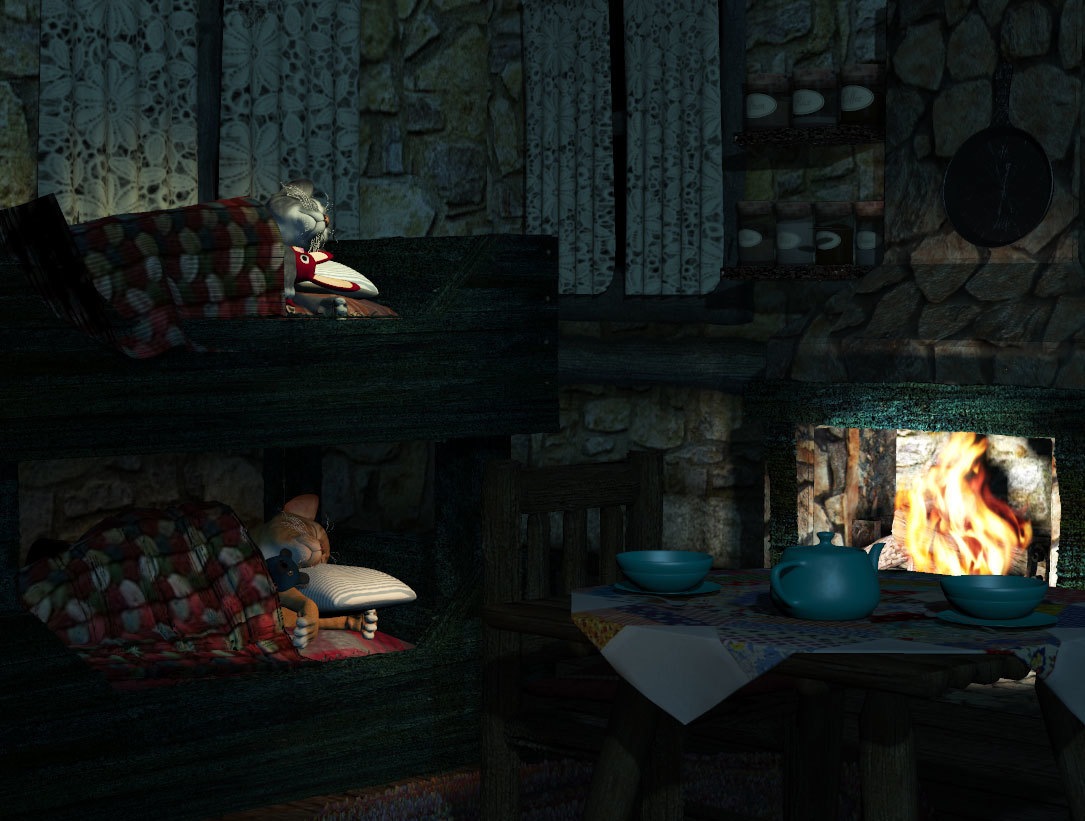 A cabin in the Woods by anniemation