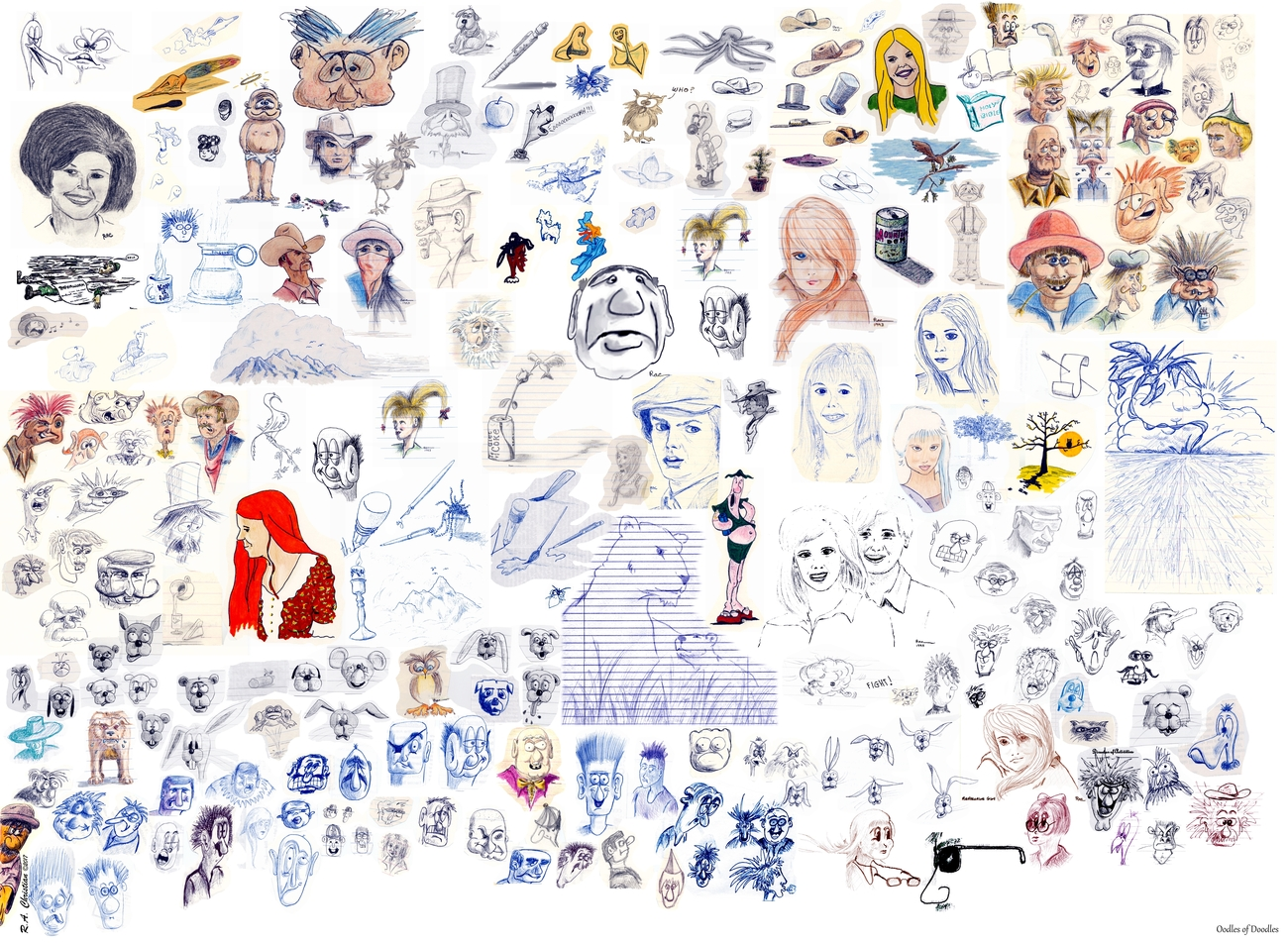 OODLES OF DOODLES by rachris480907