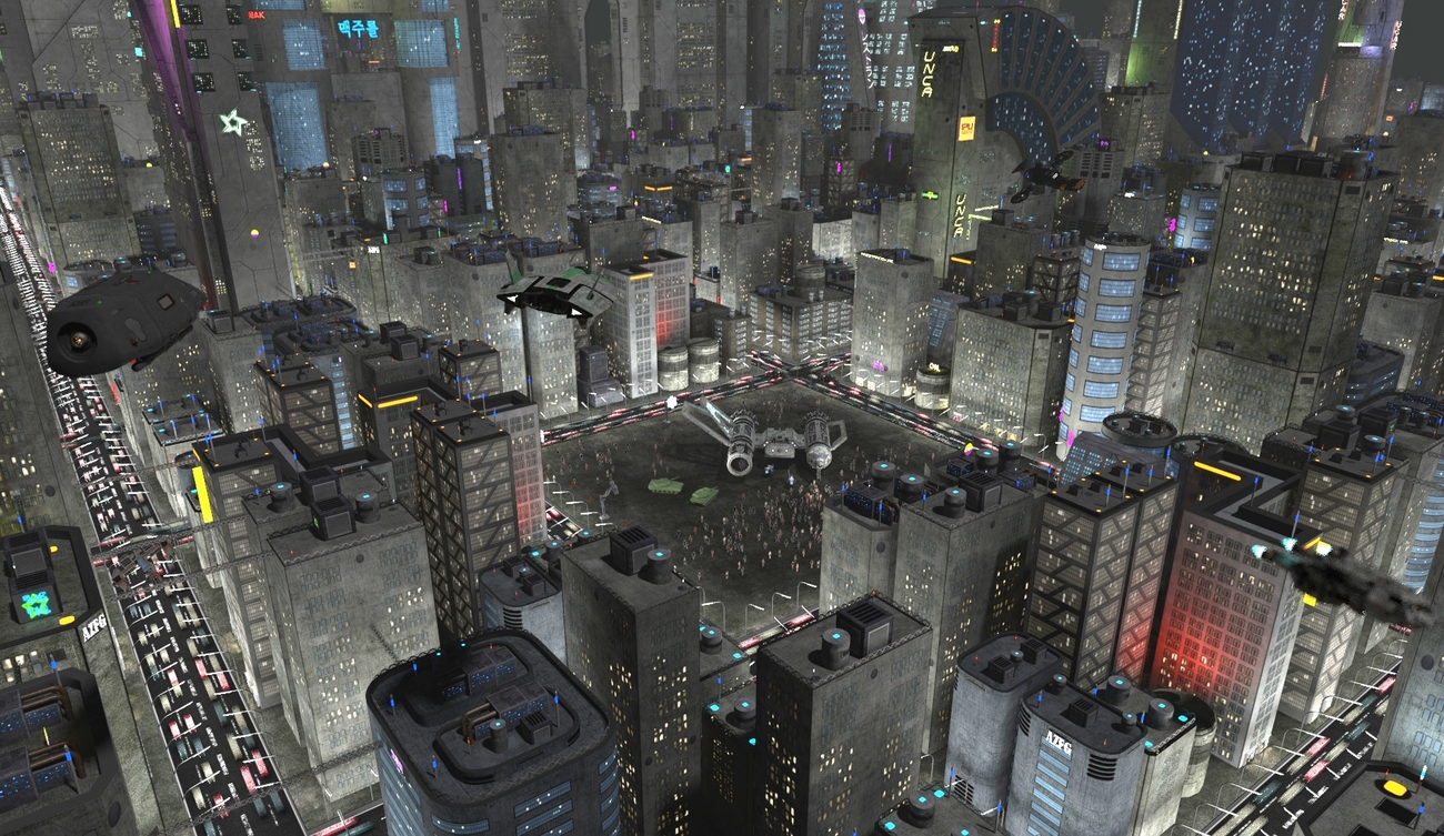 Showcase: SciFi City COnstruction Kit 3