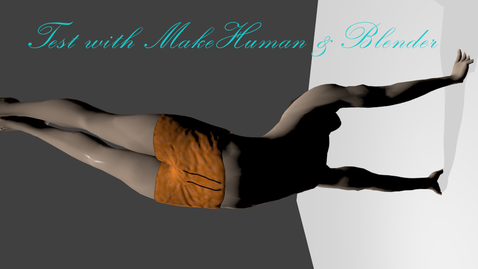Test With MakeHuman by radioham