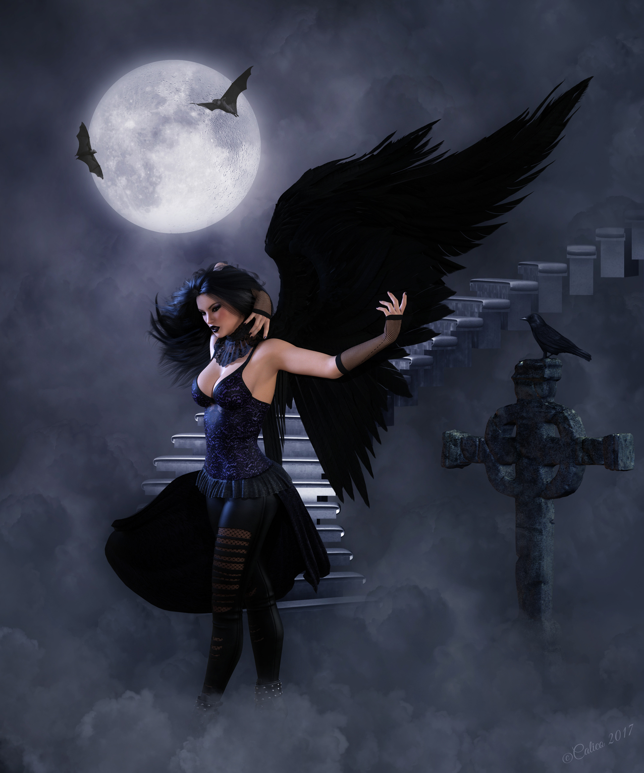 Raven by Calico