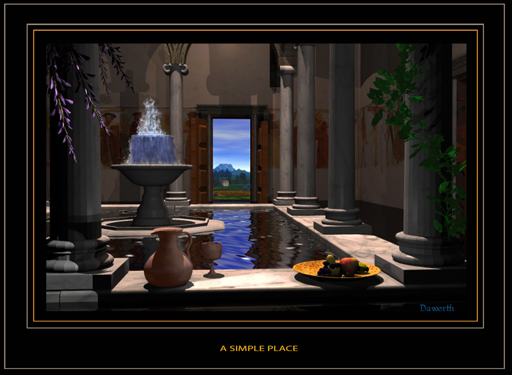A Simple Place by Daworth