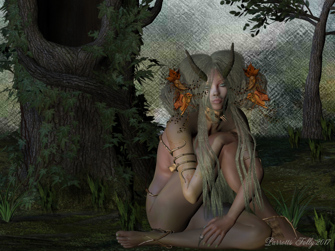 Forest Faun by wparrott1