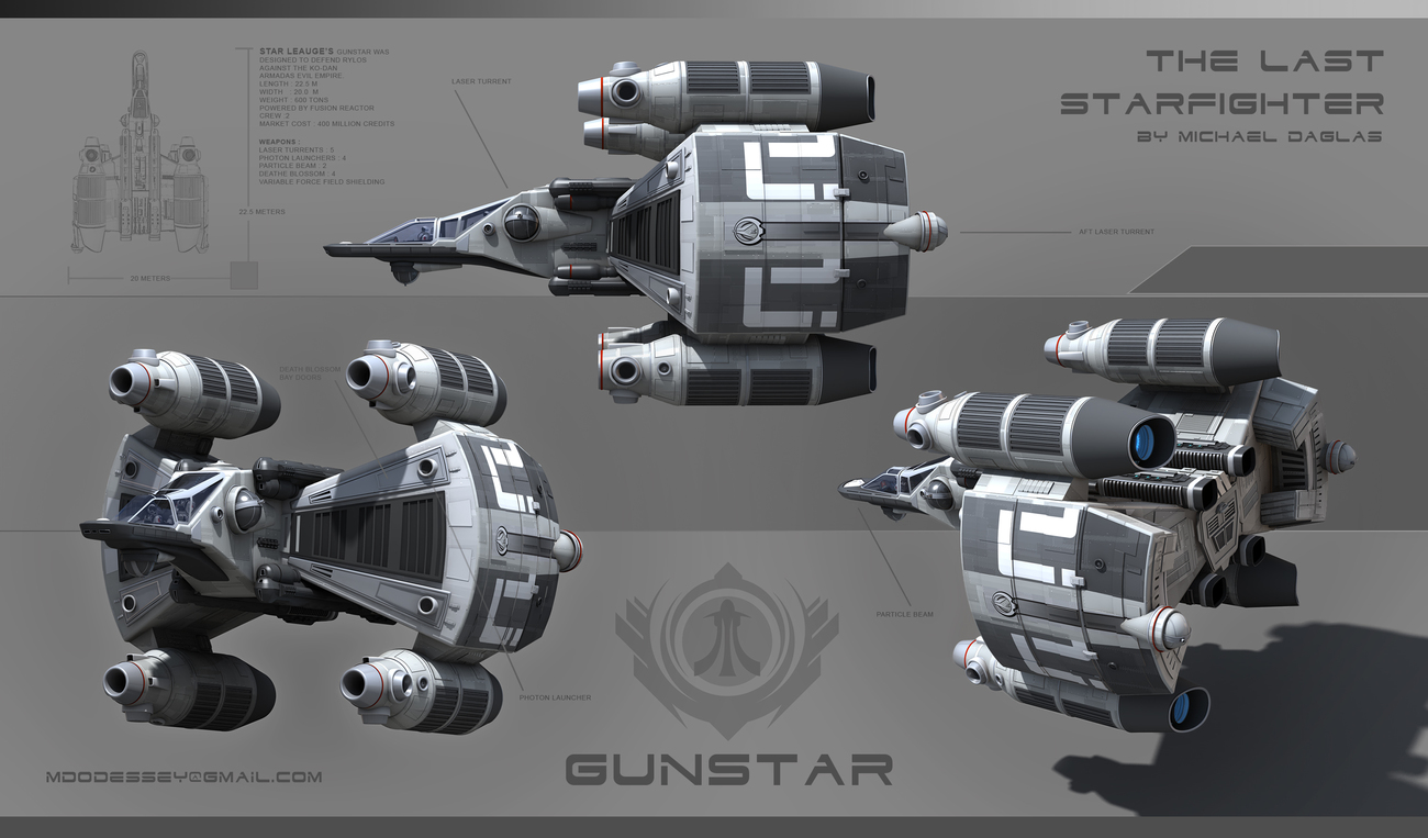 Gunstar by Odessey