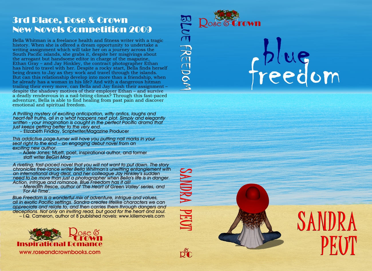 FULL COVER: BLUE FREEDOM by screencraft