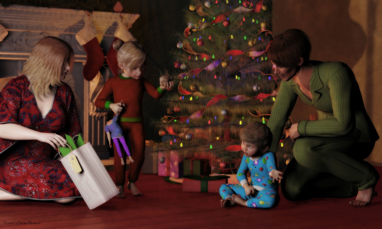 Kid Brother Makes the Naughty List by dollmommy