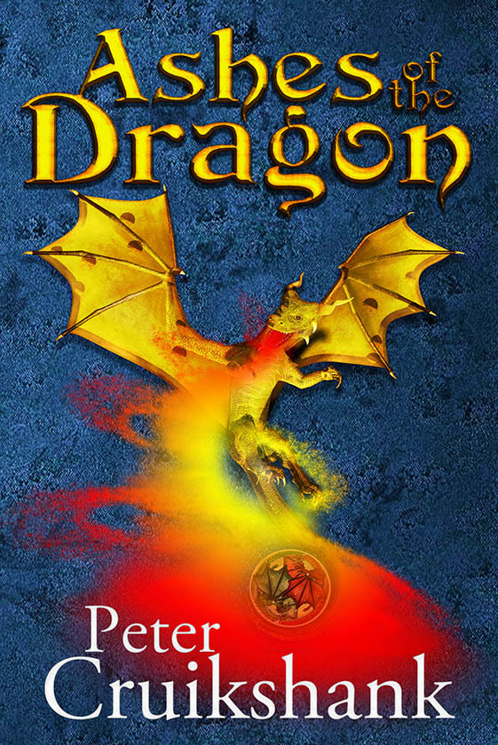 ASHES OF THE DRAGON ~ cover art & design for P by AidanaWillowRaven