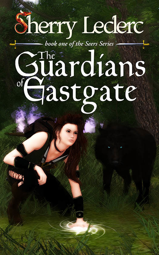 THE GUARDIANS OF EASTGATE ~ cover art & design by AidanaWillowRaven