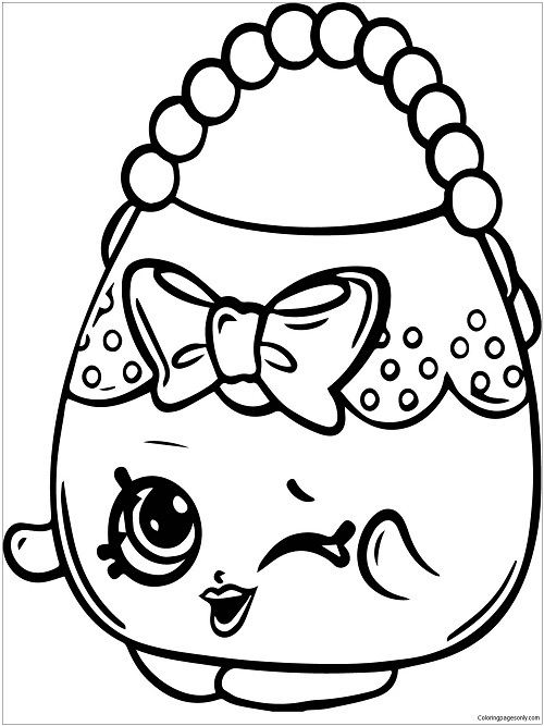 Shopkins Coloring Pages by coloringpagesonly