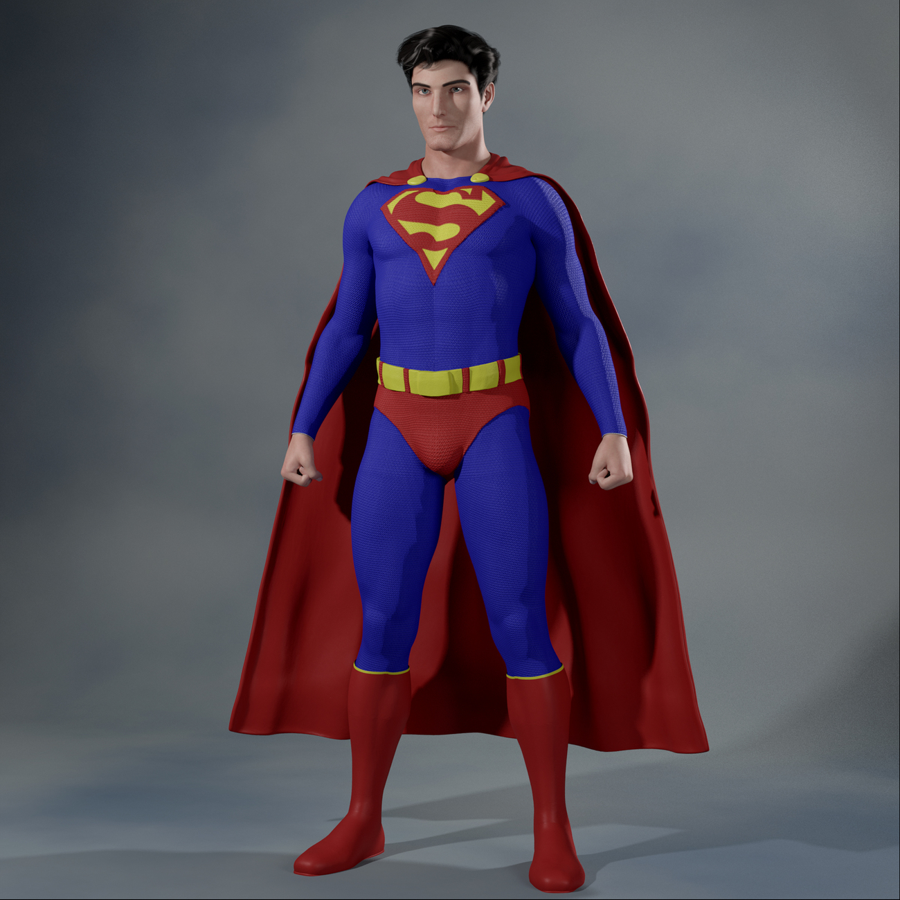 Superman from Head to Toe by Iuvenis_Scriptor