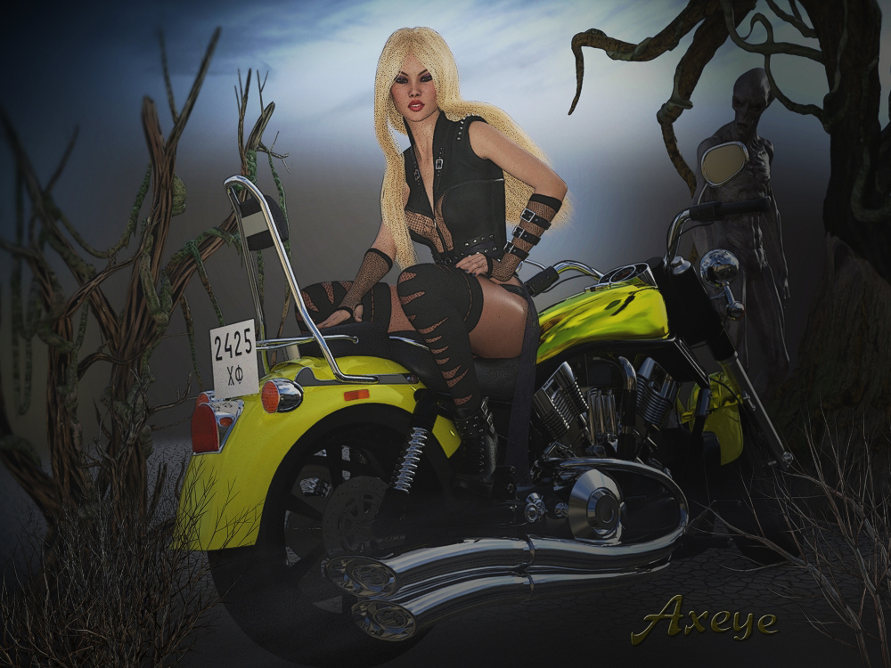 Edge Of Darkness by Axeye