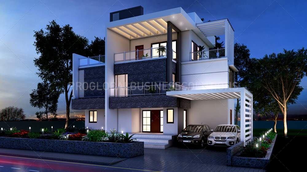 3D Architectural Exterior Rendering Services by christaelrod