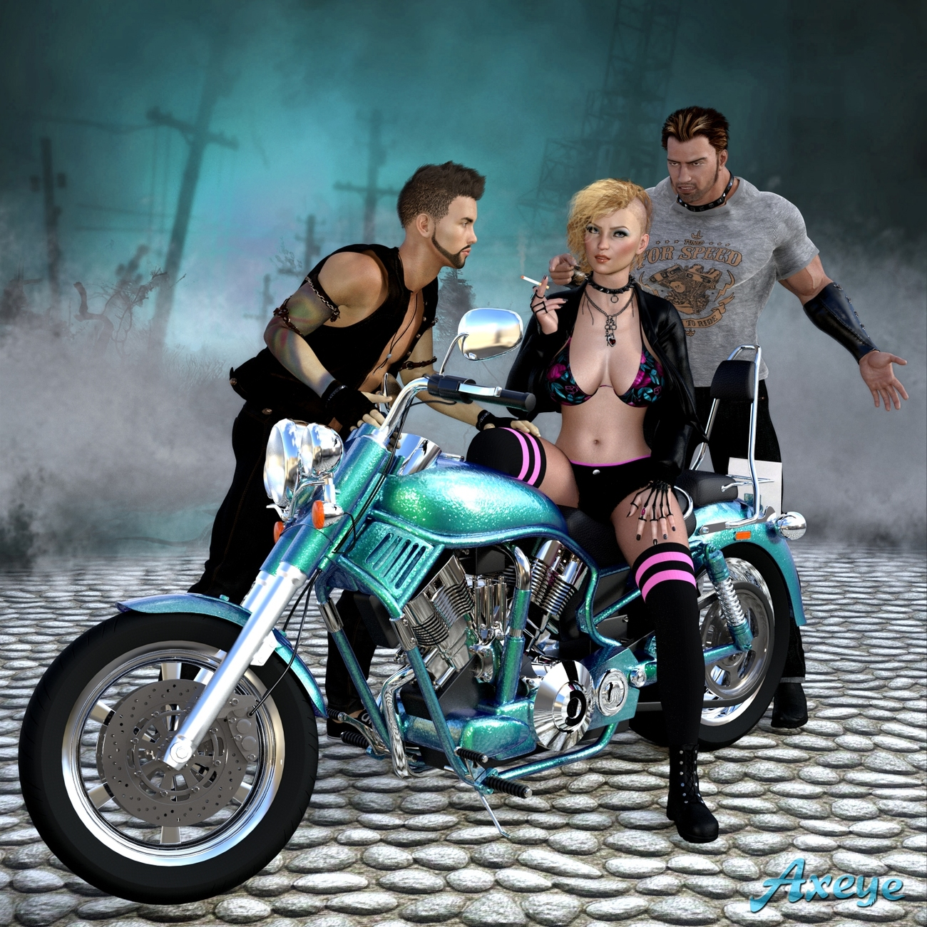 Easy Rider by Axeye