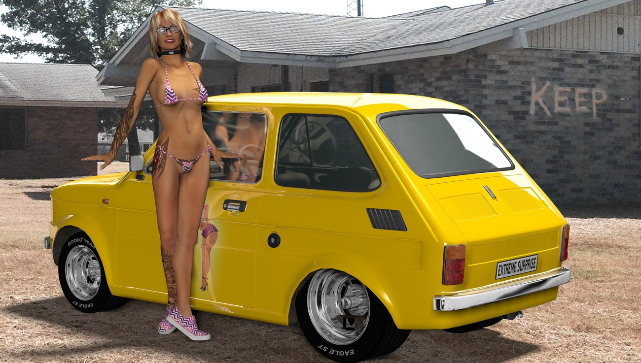 THE NERD AND HER 'FIAT 126